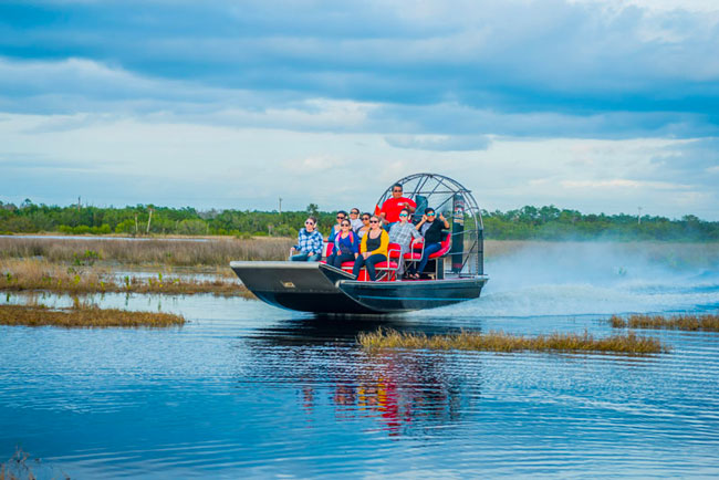 Everglades Airboat Tour | Corey Billie's Airboat Rides - Florida Everglades